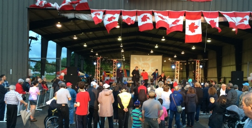 The Incredible Boris takes the stage in Trudeau Park