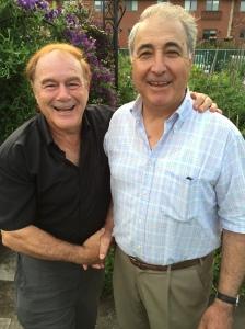 Gardeners Allan Levine and Alberto Cambone