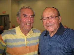 "Beth Zion ""Old-Timers"" George Nashen and Rabbi Sydney Shoham"
