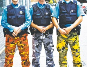 police_clown_pants_camouflage