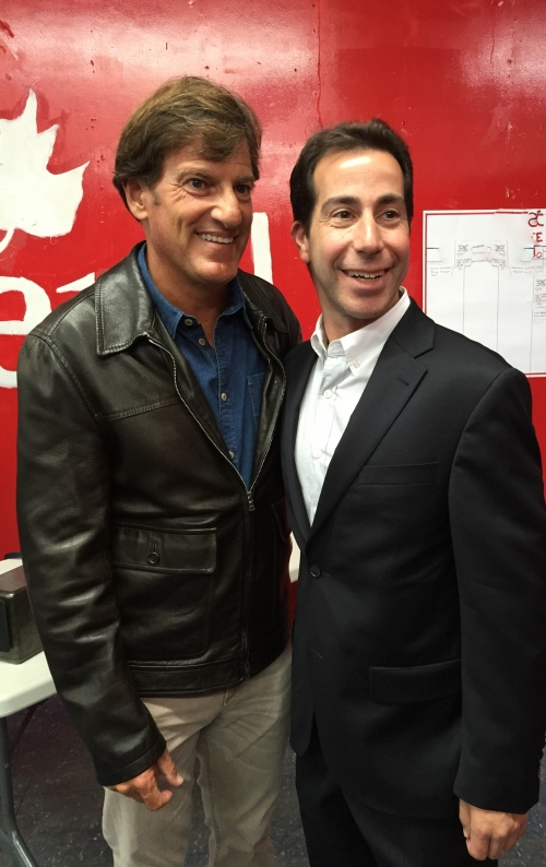 Stephen Bronfman and Anthony Housefather
