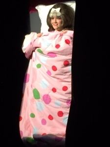 Amber Jonas is a dynamic, energetic and funny Tracy in Hairspray: The Musical