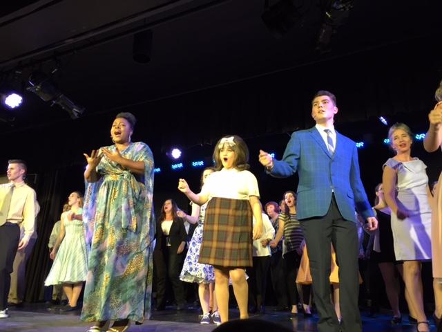 Madanna Calix-Antoine, Brandon Schwartz and Amber Jones command performance in Hairspray: The Musical
