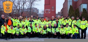 The men and women of Cote Saint-Luc volunteer Citizens on Patrol
