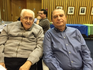 Thank you to volunteers Philip Lackman and Morris Stelcner have been actively involved in organizing roles at vCOP for several years