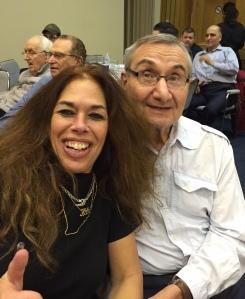 Helen Gwiazda with veteran patroller Ron Yarin