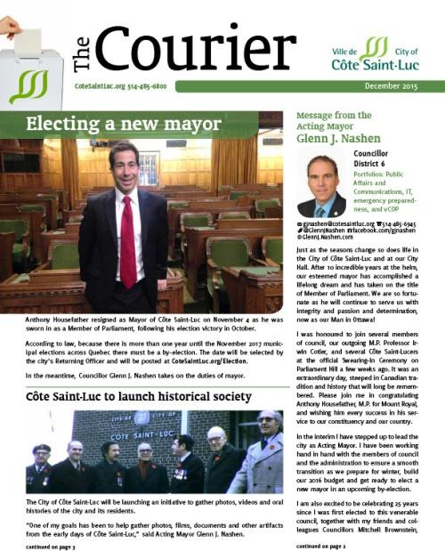 CSL Courier December 2015