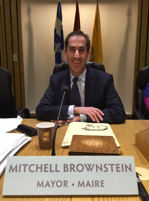 Mayor Mitchell Brownstein inauguration 2016-03-14