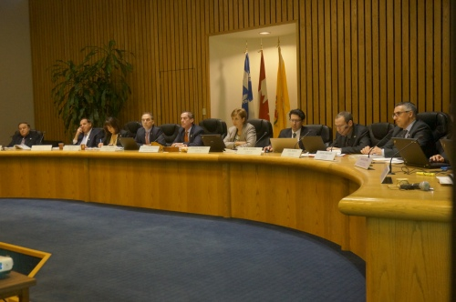 The new council meets in public on April 19, 2016