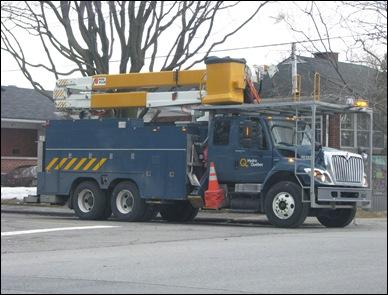 Hydro Quebec truck