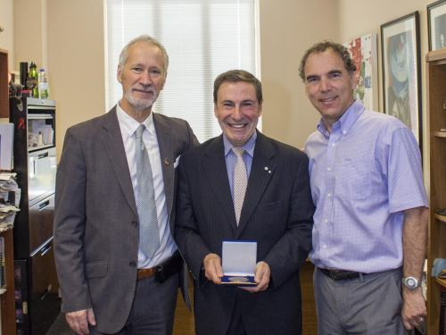 Presentation of the 2016 D'Arcy McGee Citizenship Medal - David Birnbaum, Dr. Mark Wainberg, Glenn J. Nashen