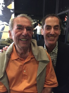 Thank you to Mayor Mitchell Brownstein for giving a 93rd birthday shout-out to my dad, gave a shout out