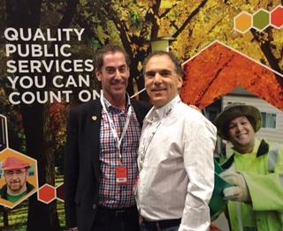 Mayor Mitchell Brownstein and Cllr. Glenn J. Nashen at FCM 2016