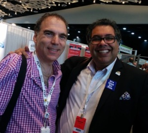 CSL Cllr. Glenn J. Nashen with Calgary Mayor Naheed Nenshi at FCM 2016