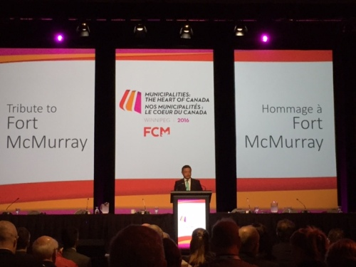 FCM 2016 Fort McMurray Tribute