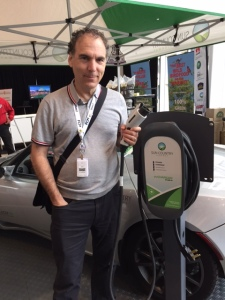 Sun Country representatives promoted electric vehicle (EV) possibilities for municipal fleets and EV charging stations. CSL will soon install its first EV charging stations.
