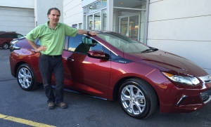 My brand new Chevy Volt Electric Vehicle