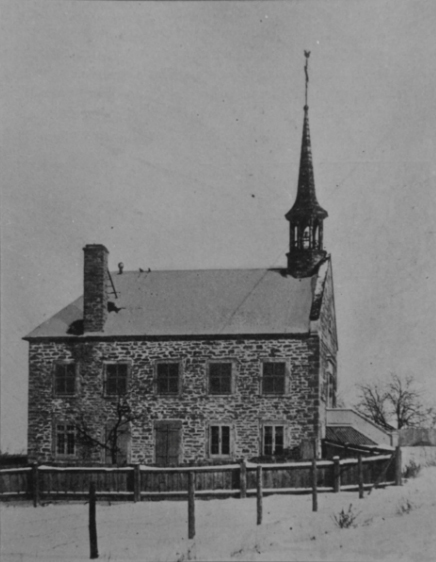 Chapelle Cote Saint-Luc (1899) once stood on the site of the current Saint-Patrick Square on King Edward Avenue at Cote Saint-Luc Road.