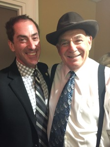"Mayor Mitchell Brownstein and Councillor ""Moe Sunshine"" Sam Goldbloom"