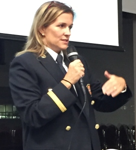 Louise Desrosiers, Division Chief, Montreal Fire Department (vCOP, Oct. 5, 2016)
