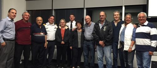 vCOP members receive their 10 year recognition pins, October 2016