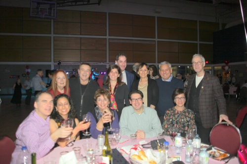 City Council and MNA Birnbaum at the 2017 Valentine's Dance