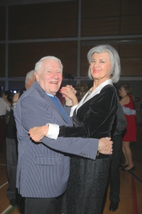 Dick Irvin and Terri Druick on the Valentine's Dance Floor